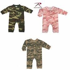 *Rothco Infant Camo Long Sleeve and Leg One-piece Bodysuit