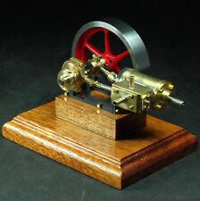 """Liegende Dampfmaschine """"Danni"""" Materialbausatz Dampfmodellbau"""