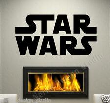 MURO CITAZIONI di Star Wars Adesivi murali Wall Art Decalcomania Arte Home Decor rimovibile N93