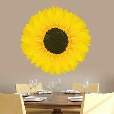 Sunflower Printed Wall Decal - Flowers, Spring, Summer, Garden, Entryway, Decor