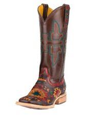 Tin Haul Western Boots Womens Wolf Brown Red 14-021-0007-1281 MU