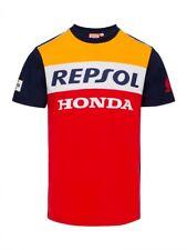 Repsol Racing Honda MotoGP 2018 Team Ufficiale Da Uomo T-shirt Tee Marquez Pedrosa