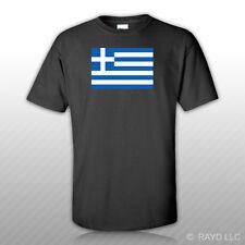 Greek Flag T-Shirt Tee Shirt Free Sticker Greece