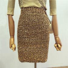 Sexy Lady Sequined Glitter Skirt High Waist Stretch Bodycon Shiny Short Dress