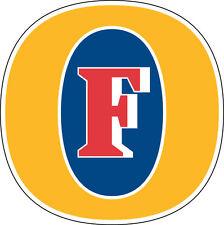 FOSTER Sticker Decal *DIFFERENT SIZES* Australian Beer Car Bumper Window Bar