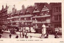 ROW OLD HOUSES HOLBORN LONDOMN ENGLAND CLARKSON'S OPTICAL DEPT. 1930