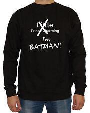 I´m Batman Sweater Fun Comic Joker Gotham City Dark Knight Superheld Superman