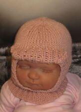 Istruzioni stampate-BABY SOFT picco Balaclava Hat knitting pattern