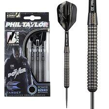 23g 25g Target Phil Taylor Power 8Zero Black Titanium 80% Tungsten Darts