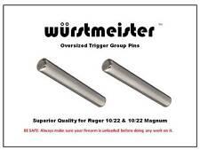CUSTOM TRIGGER GROUP PINS (2) FOR RUGER 10/22, 17Mach2, 17HMR, 10/22 MAGNUM
