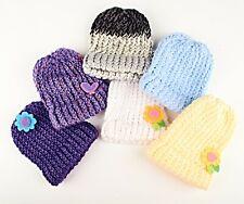 *Infants Kids Children Knitted Beanie Hat Cap Winter Worm Girls w. Design