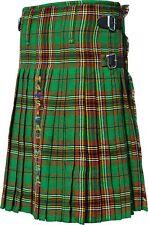 Irish Tara Tartan Active Men Highland Traditional Pleated to Sets Prime New Kilt