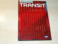 20777) Ford Transit engl.  Prospekt 1992