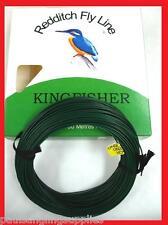 VERDE Oliva Kingfisher di Redditch peso avanti affondamento FLY Lenza da Pesca 30m
