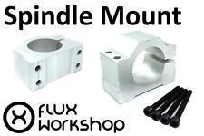Spindle Mount Aluminium Clamp 48 52mm ER11 CNC Router Milling Flux Workshop