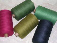Bockens Cottolin 22/2 250g Tube Cotton Linen Yarn (0 Lace Fingering Wgt)