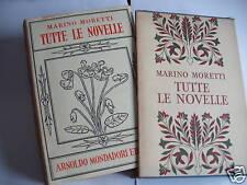 Moretti, TUTTE LE NOVELLE 1959  Mondadori