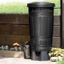 Regenwassertonne Regentonne Regenbehälter Regentank Amphore 265L 2 Farben Hahn