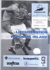 World Cup Qualifying 31.08.1996 Liechtenstein - Ireland