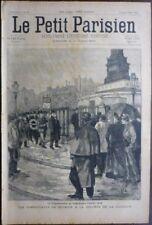 LE PETIT PARISIEN 1898 COMMUNE PARIS 1848 SICILE ITALIE