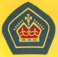 AUSTRALIA QUEEN'S SCOUT Highest Rank Top Award Backpatch (Jacket Badge) EMB BP
