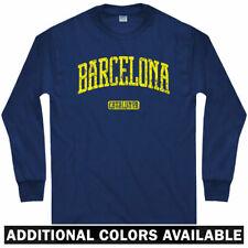Barcelona Long Sleeve T-shirt - FCB Catalunya Spain Espana ES - LS - Men / Youth