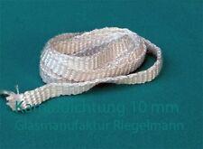 Kamindichtung, Ofendichtung Breite:10 mm  Dicke:2 od. 3 mm, Länge:2 m
