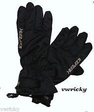 Ice Peak Ladies Black SKI Gloves sizes small medium and large