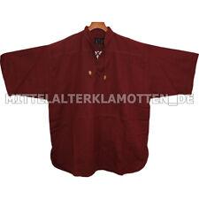 Sommer Hemd KURZARM Mittelalterhemd kurzärmelig Mittelalter, 100% BW, 6 Farben
