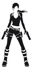 Decal Vinyl Truck Car Sticker - Video Games Tomb Raider Lara Croft