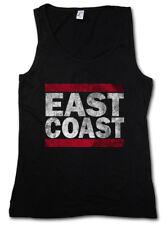 EAST COAST WOMEN TANK TOP Run Fun DMC USA United States New City Band Side West