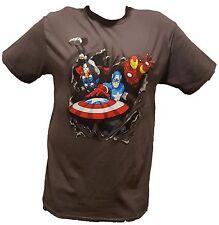Avengers Mens T Shirt Iron Man Captain America Thor Marvel Choose Your Size NEW