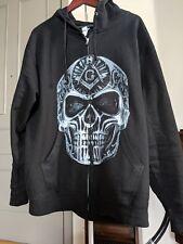 ZIPPER HOODIE Freemason Mason Skull, t-shirt, crossbones, ring