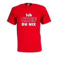 Ich CHEF du nix, Fun T-Shirt, Funshirts, t shlrt sprüche, coole Shirts (FSA007)