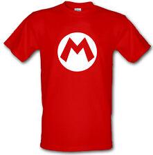 MARIO BROS SUPER M Gamer Fun Heavy Cotton t-shirt Small -XXL