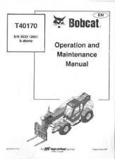 BOBCAT t40170 TELESCOPICO handler operatori manuale