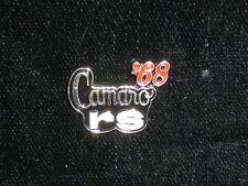 CAMARO RS 1968, 69, 70, 71, 72, 87, 88, 89, 90 - hat pin, lapel pin, tie tac,