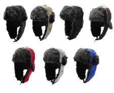 Men's Fur Winter Bomber Strap Hat Updated 2017 Version