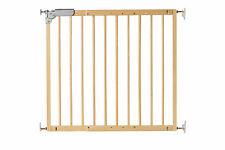 Türschutzgitter, Treppenschutzgitter, Kindergitter aus Massivholz. 75,6-110 cm