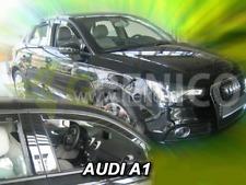Windabweiser AUDI A1 5-türer 2012-heute 2-tlg HEKO dunkel Regenabweiser