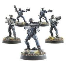 WWG Law Enforcement Officers Miniaturen - 28mm Sci-Fi Futuristisch Figur Modell