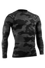 Herren Funktionsshirt TACTICAL langarm, Silberfasern, Camouflage Shirt OPT1003sz