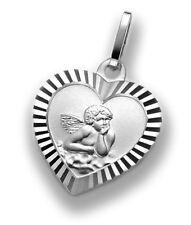 Herzanhänger Engel Schutzengel 925 Silber +Kette Muttertag Valentinstag Anhänger