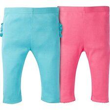 Gerber Baby Girls Ruffled Pants 2 Pack NEW Leggings Various Sizes