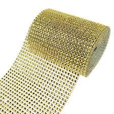 Rhinestone Diamond Wrap Ribbon, 4-3/4-Inch, 5 Yards