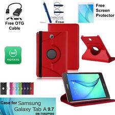 Cover TAB A 9.7 360 Rotation PU Leather Case Samsung Galaxy Tab A 9.7 T550/P550