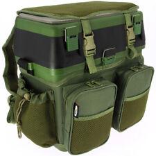 Fishing Seat Box & Rucksack Fly Sea Coarse Fishing Seat Back Pack Ruck Sack NGT