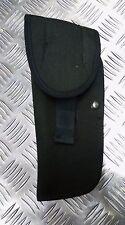 Genuine British Military Cordura MOD Black Holster 9MM Auto - RH/LH