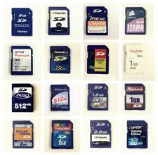 Secure Digital 32MB 64MB 128MB 256MB 512MB 1GB 2GB 4GB 8GB SD Card with Case