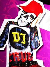 Boys Scary Skeleton DJ Halloween Costume Crypt Mix Spin Master Disc Jockey S NEW